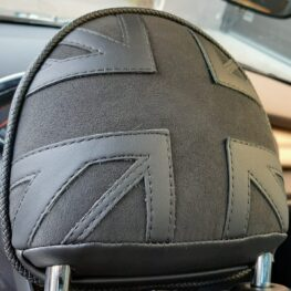 MINI Cooper S - Union Jack nakkestøtter