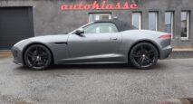 Jaguar F-Type cabriolet fora autoklasse